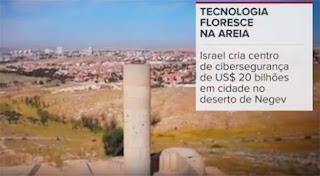 Cyber Park em Israel leva polo high tech ao deserto