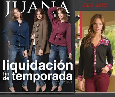 Catalogo Juana Bonita Julio 2015