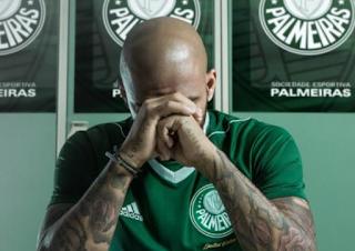 Felipe Melo é barrado e não joga mais pelo Palmeiras