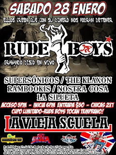 Los Rude Boys en La Vieja Scuela