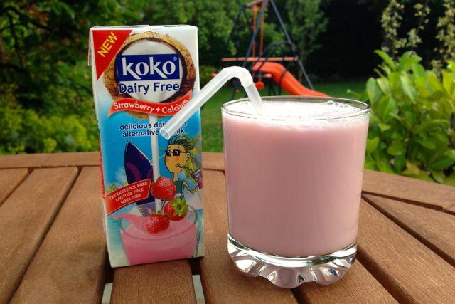Koko Dairy-Free Strawberry Milkshake