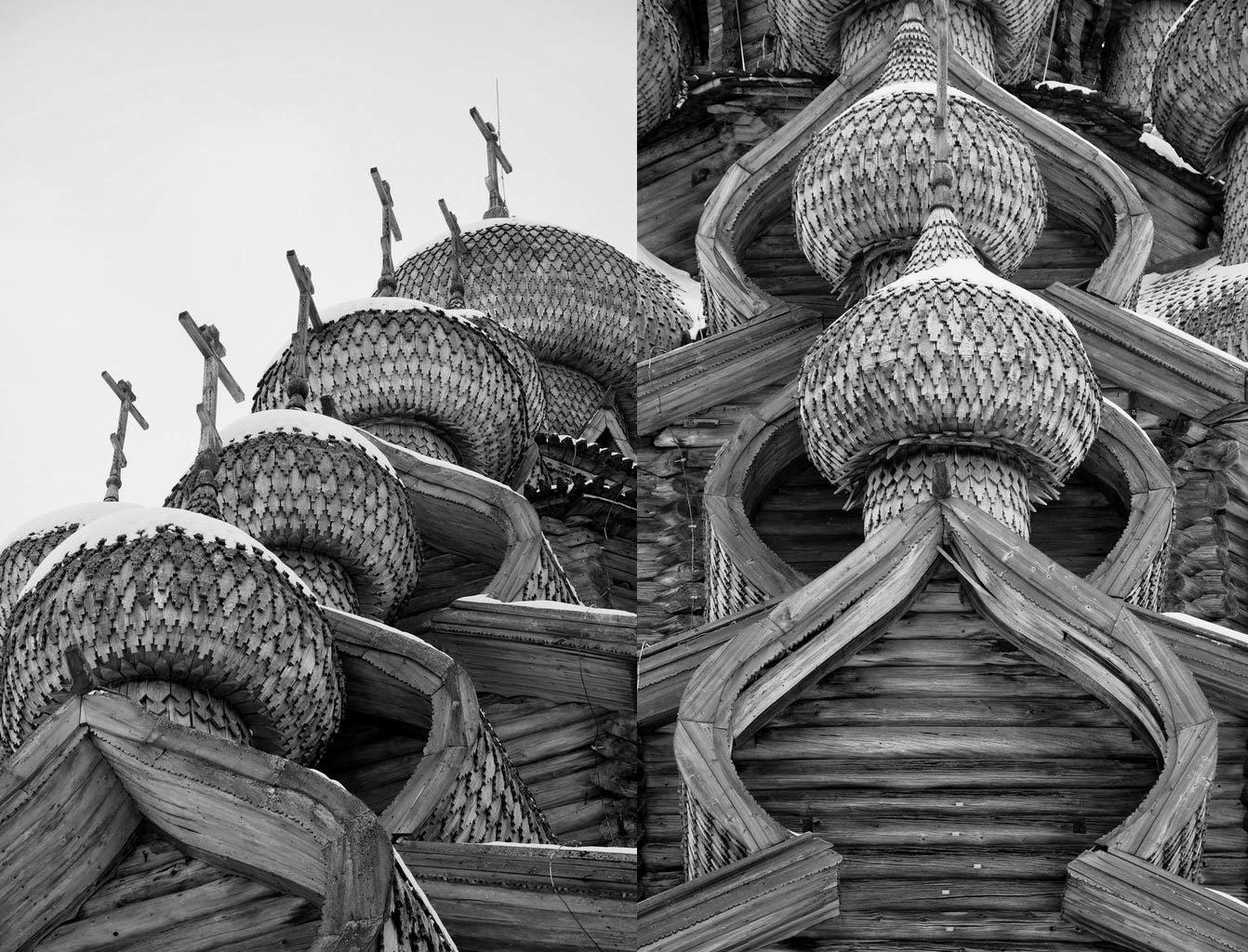 顕栄聖堂(プレオブラジェンスカヤ教会)の上部