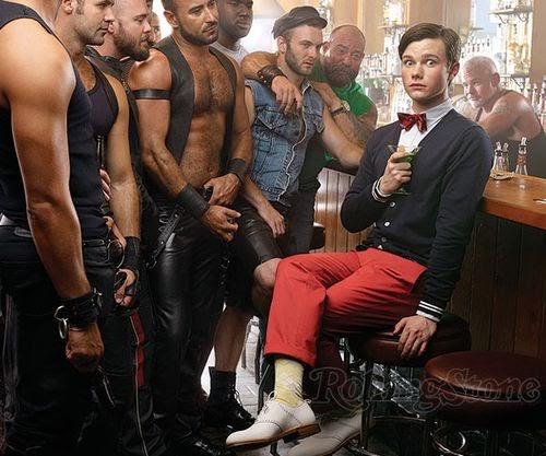 Straight men acting gay