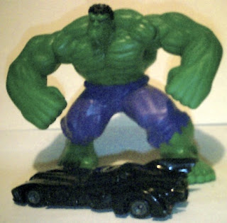 Hulk smash Batmobile