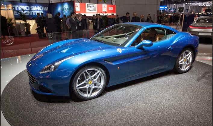 Mobil Ferrari Terbaru California T