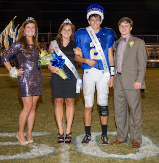 Montgomery Catholic Crowns 2012 Homecoming Queen & King 1