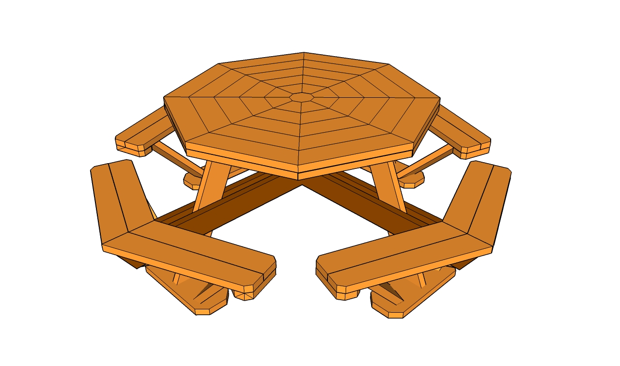 Picnic table designs