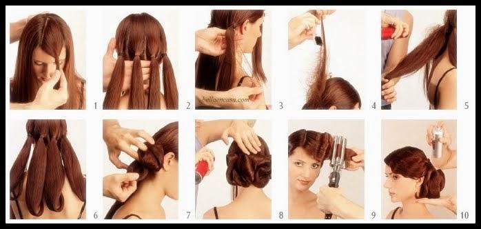 Elegantes peinados bajos muy fáciles de hacer paso a paso - Peinados Bajos Paso A Paso
