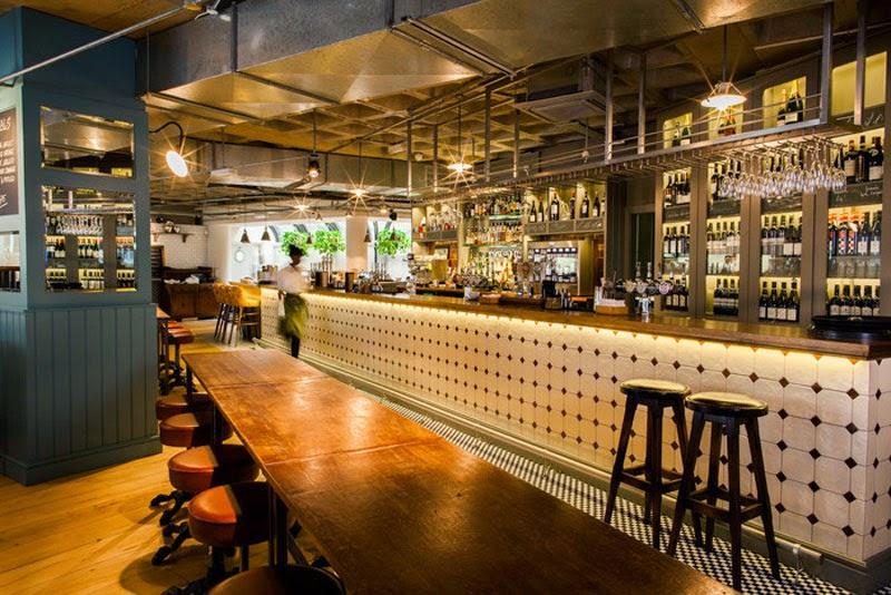 mejores diseños de interiores de bares y restaurantes del mundo, The Vintry