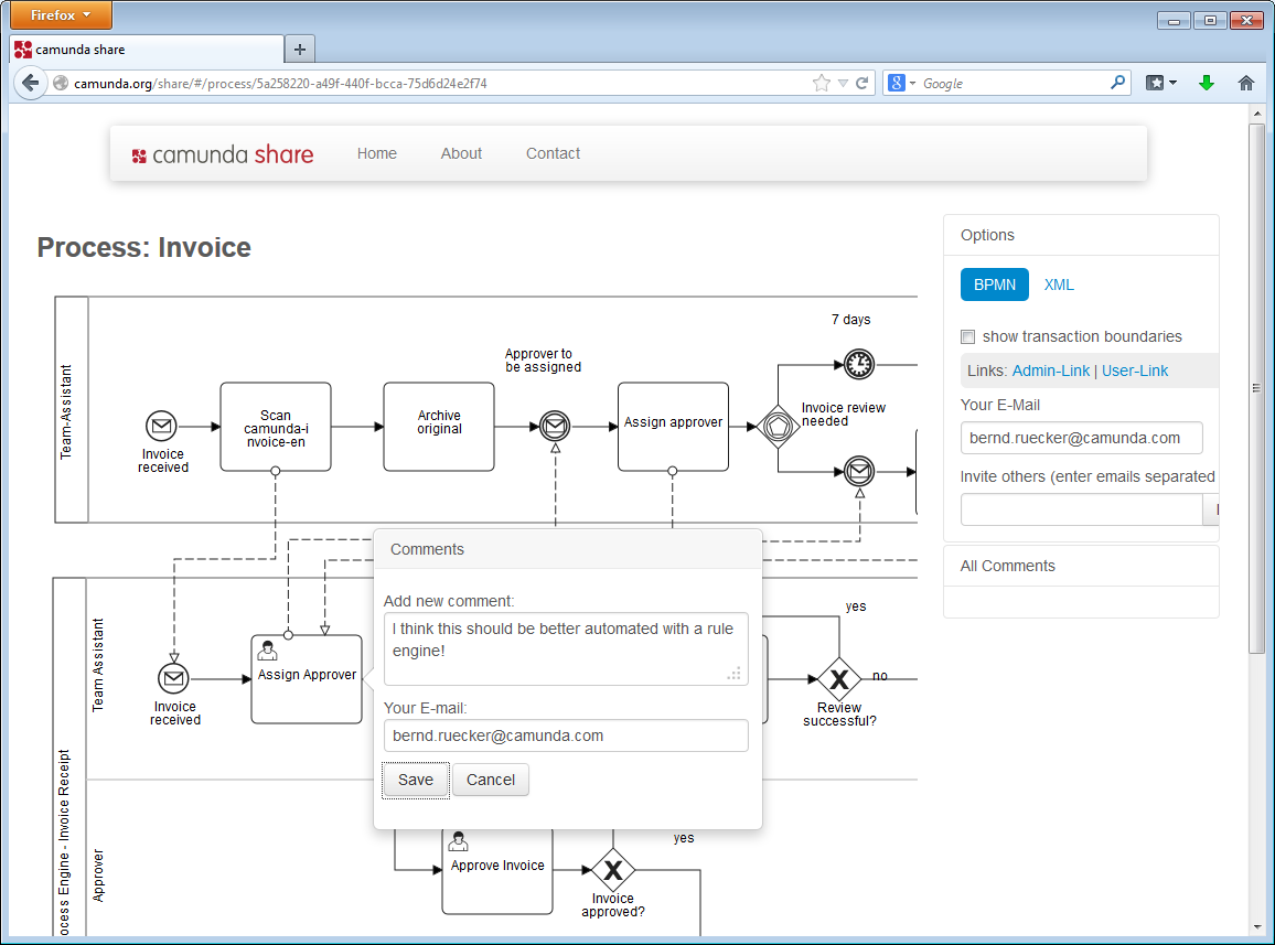 comment on elements of the bpmn 20 process models - Bpmn Xml