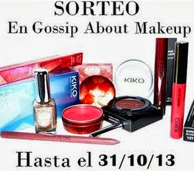 Sorteo en Gossip About Make Up