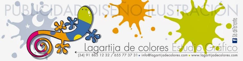Lagartija de colores - Estudio gráfico