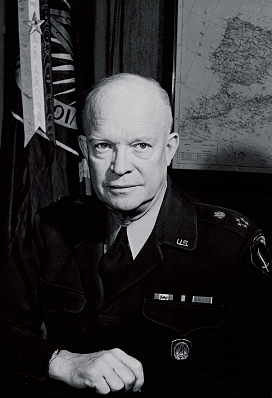 "General DWIGHT DAVID ""IKE"" EISENHOWER (EEUU 14/10/1890 – Washington D.C. 28/03/1969)"