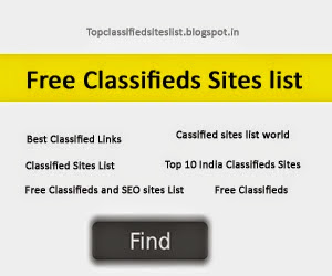 Classifieds Sites List