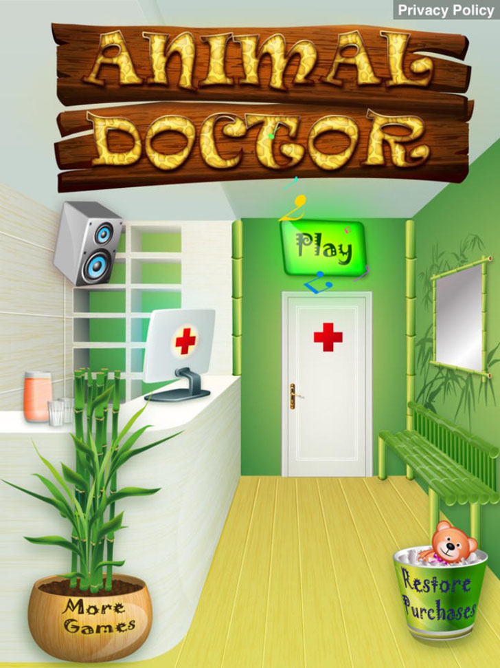Animal Doctor App iTunes App By Ninjafish Studios - FreeApps.ws