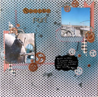 A 12x12 layout made with the Mr Mister range by Papernania