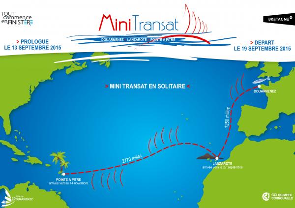 Mini Transat 2015.