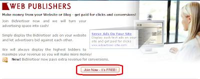 Cara Daftar Menjadi Publisher di Bidvertiser