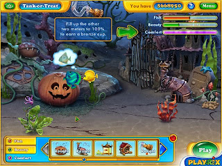 Game Fishdom Spooky Splash