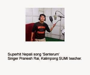 Superhit nepali song senterum singer pranesh rai kalimpong sumi teacher