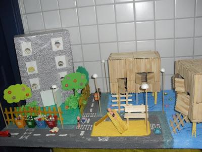 Maquete Meio Ambiente - Feira de Ciências