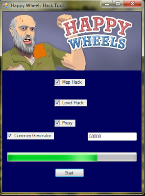 Happy Wheels All Characters Unlocked Happy wheels game hack tool