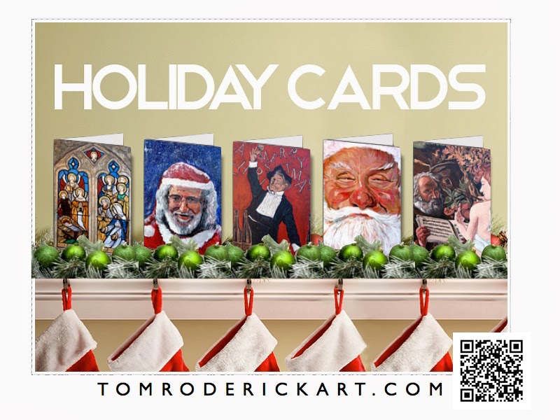 Holiday Cards by Boulder artist Tom Roderick