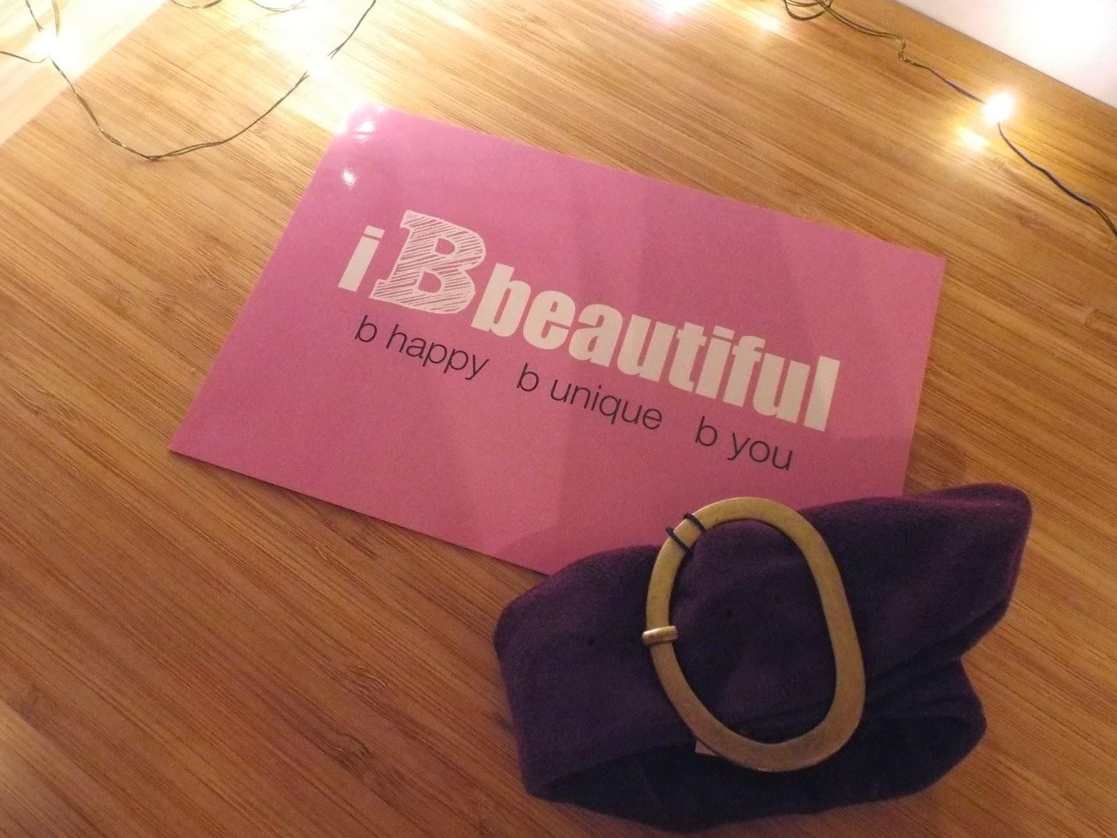 Pink House Suede Buckle Bracelet