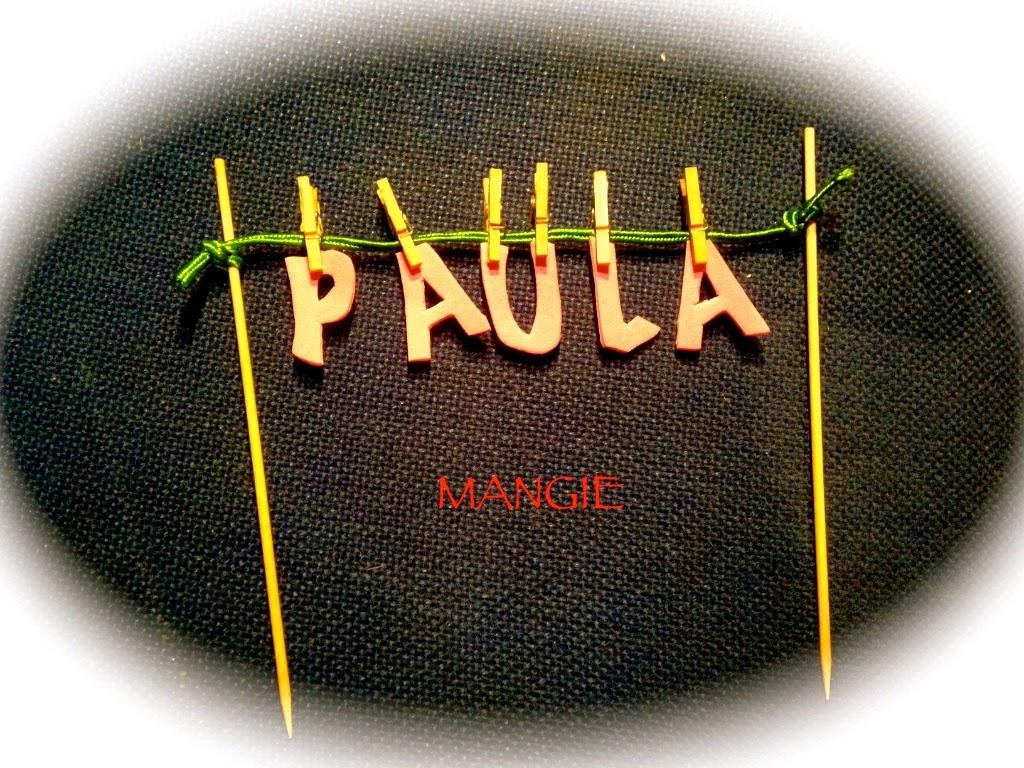 Guirnalda tarta Paula