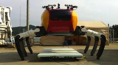 The New Technology : Robot Kepiting (Crabster CR200) Siap Menjelajah Dunia Bawah Laut