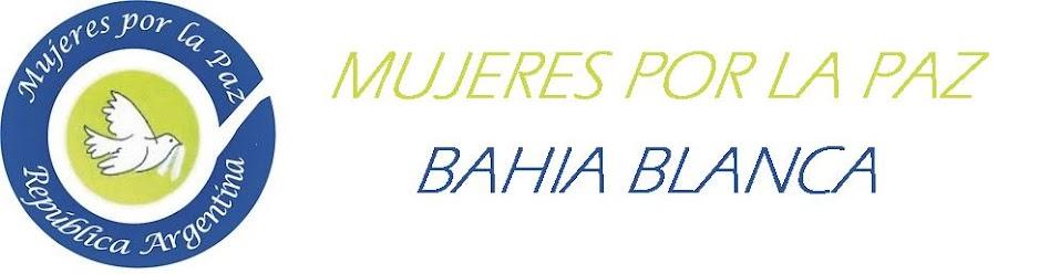 Mujeres por la paz Bahia Blanca