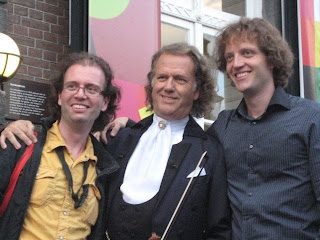 Photo of André Rieu & his  Son  Marc Rieu