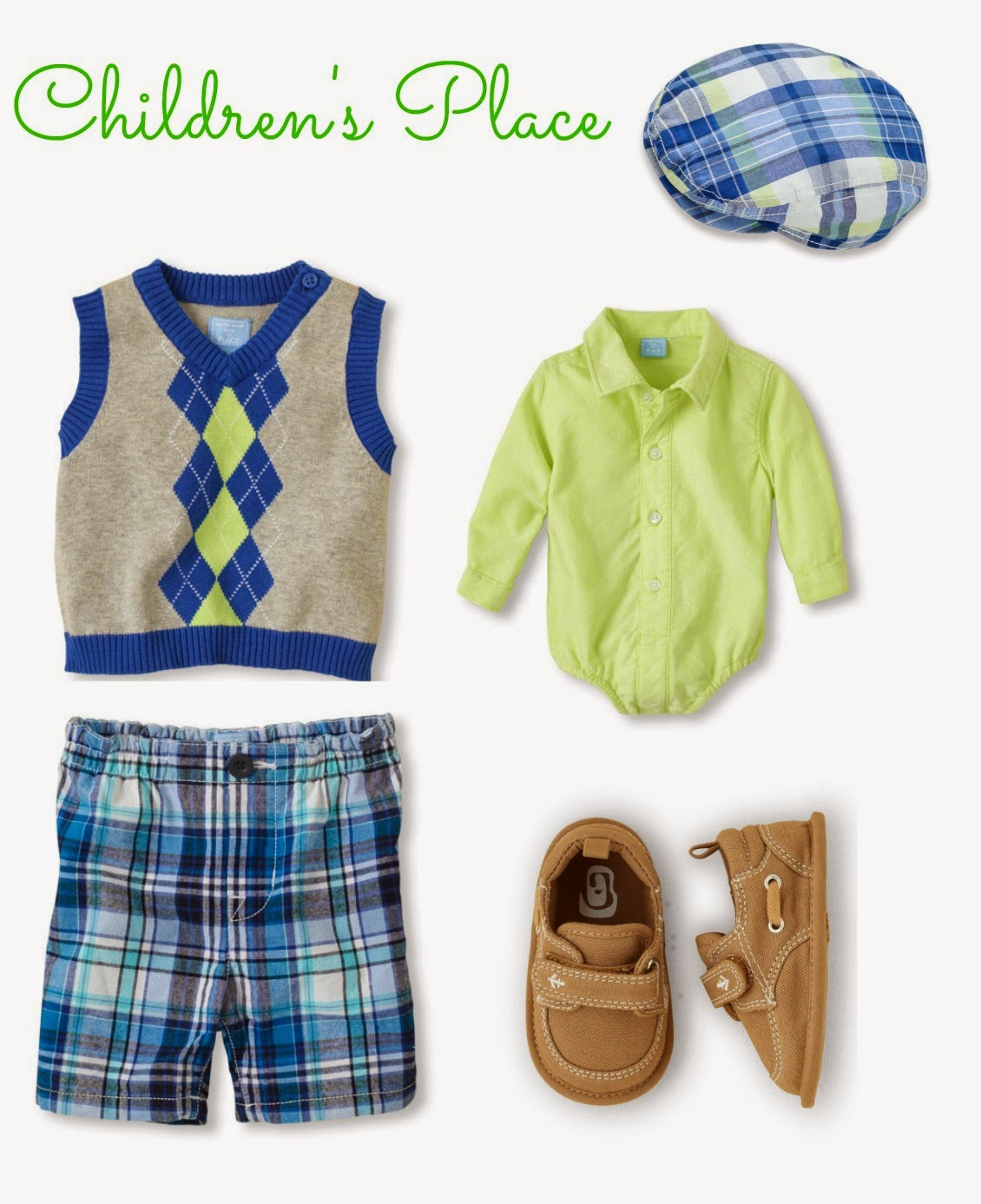 Children's Place Boys Easter Outfit