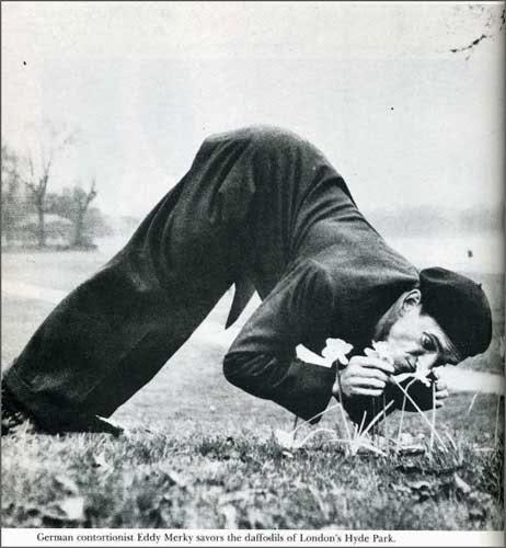 LIFE magazine -contorsionist Eddy Merky