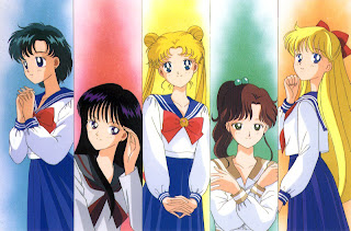 sailor moon personagens