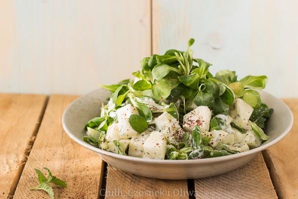 prosta salatka z kalarepy przepis