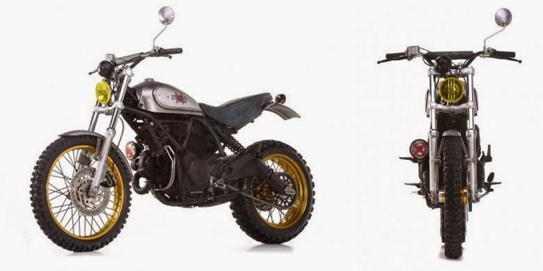 Ducati Scrambler Bagian Samping