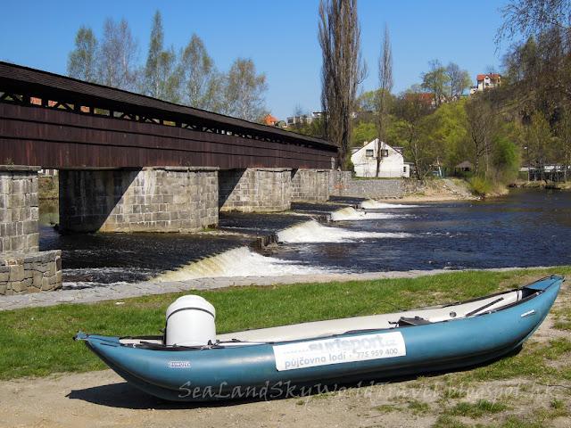 捷克, 克姆洛夫, Krumlov, rafting, 漂流, 划船