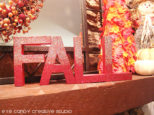 fall letters for mantel, painted letters, pumpkins, decorating a mantel for fall