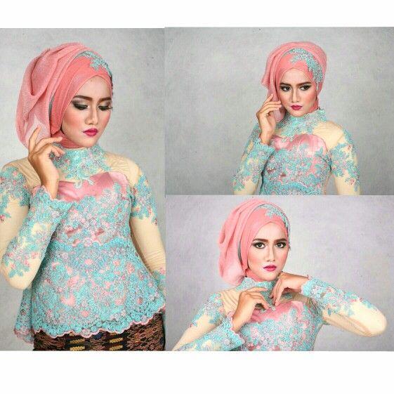 2016 hijab dua warna wisuda contoh hijab untuk wisuda 2016