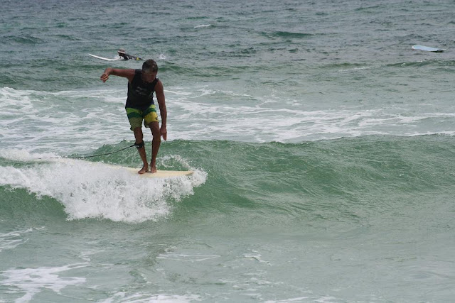 Kendall Roose Surfing stylishly at Pensacola Beach on Sunday May 13, 2012