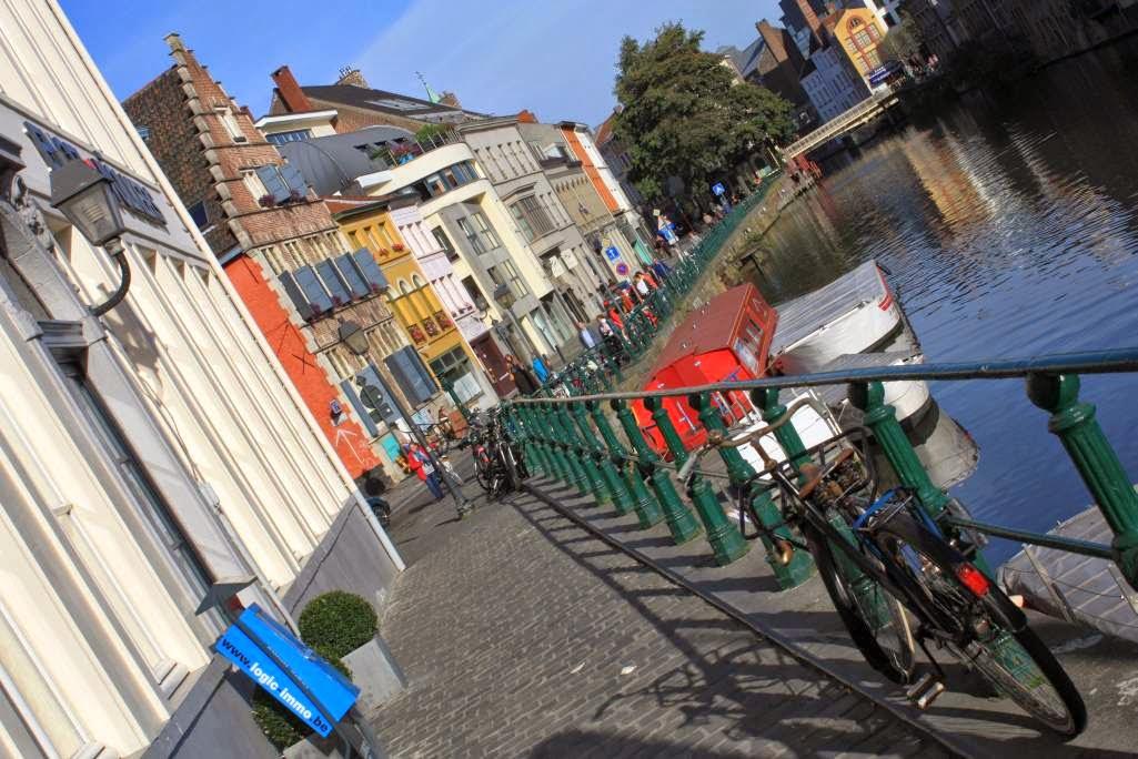 Kraanlei in Ghent