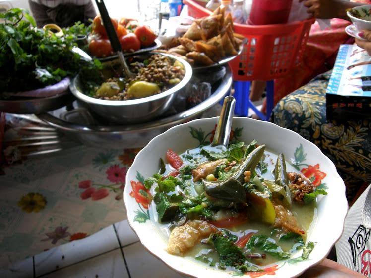 缅甸,边走边吃