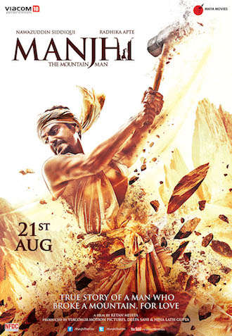 Manjhi The Mountain Man 2015 Hindi 480p DVDRip 350mb
