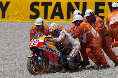 Apa Peluang Marquez Jadi Juara Dunia Sudah Tertutup?