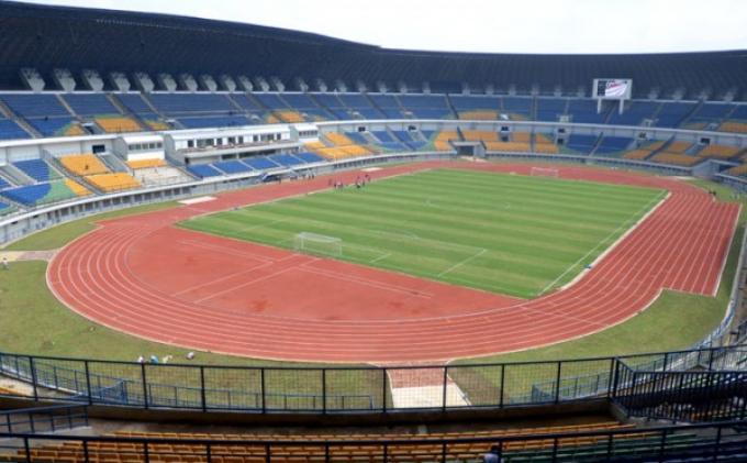 Stadion GBLA Rusak Pascalaga Persib vs Malaysia Selection