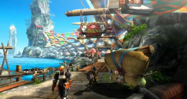 Screenshot of the Wii U version of Monster Hunter 3 Ultimate