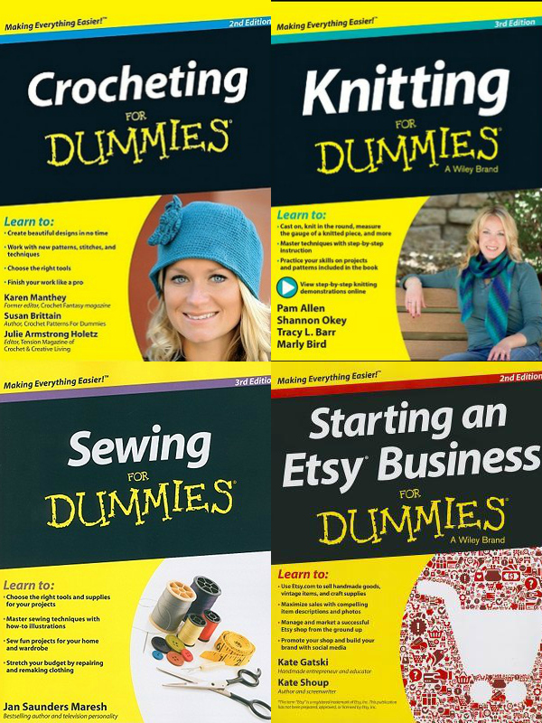 Knitting For Dummies Book : The picture garden a crafty quot for dummies book