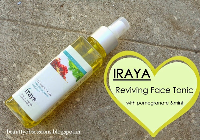 Iraya Reviving Face Tonic With Pomegranate & Mint - Review and Price