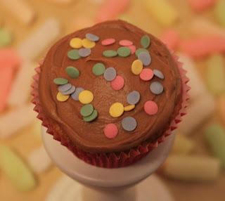 Cupcake de turrón